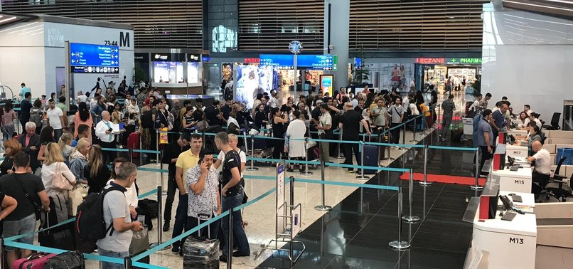 PASSENGERS TRAVELING THROUGH ISTANBUL AIRPORT HIT 30M