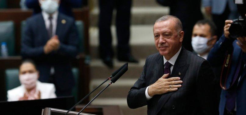 TURKEY TO GIVE NECESSARY RESPONSE TO GREEK SIDE FOR NOT KEEPING PROMISES: ERDOĞAN ON EASTERN MEDITERRANEAN DISPUTE