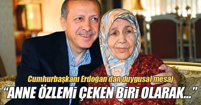 Cumhurbaşkanı Erdoğan'dan çok anlamlı mesaj