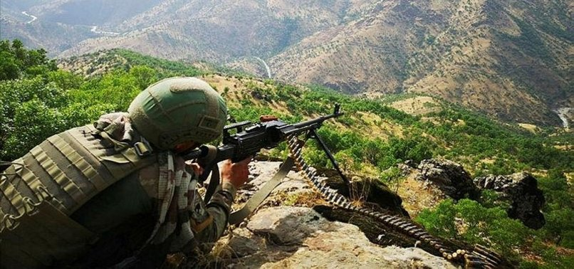 Counterterror operations against PKK continue in northern ...