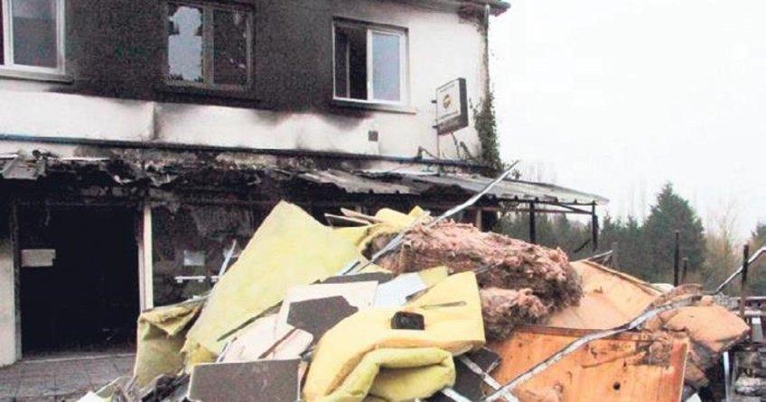 Fransa'da Türklere ait binada yangın