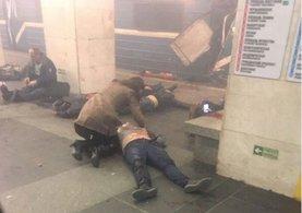Rusya'da St. Petersburg kentinde metroda patlama! En az 10 ölü!