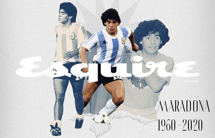60 yaşında kalp kirizi sonucu hayatını kaybeden Maradona, Arjantin Milli Takımı ve İtalyan kulübü Napoli'deki performansıyla dünya futbol tarihine adını altın harflerle yazdırdı.