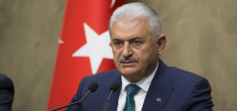 GREECE, TURKEY SHOULD REFRAIN FROM TENSIONS IN THE AEGEAN, USE DIALOGUE: PM YILDIRIM