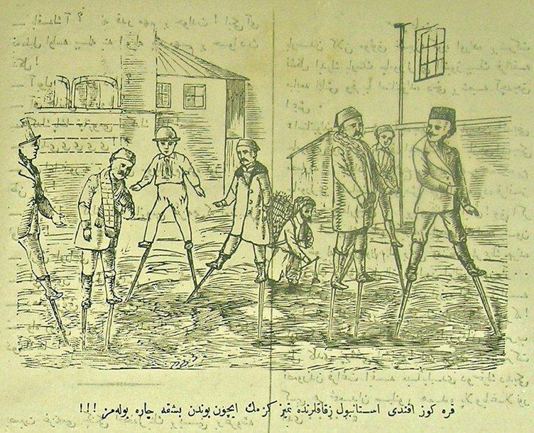 KARİKATÜR SANATI : 100 yıllık karikatürler :