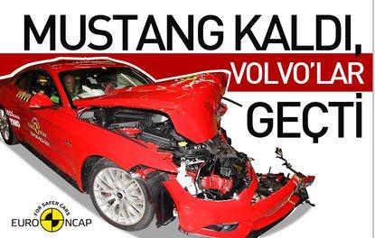 Mustang kaldı, Volvo'lar geçti