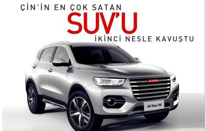 Çin'in en çok satan SUV'u ikinci nesline kavuştu