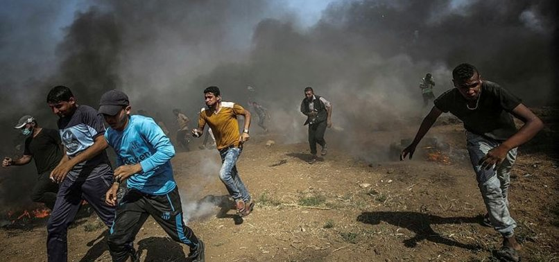 PALESTINIAN DIES OF WOUNDS SUSTAINED NEAR ISRAEL FENCE