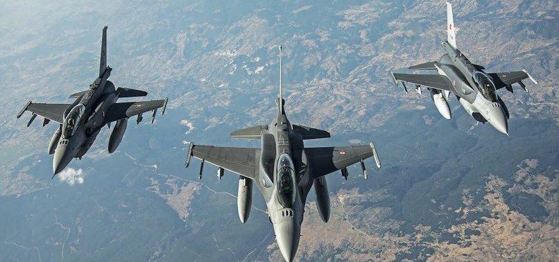 8 TERRORISTS NEUTRALIZED IN AIRSTRIKE IN EASTERN TURKEY