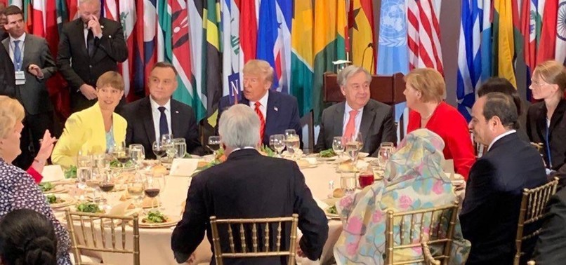 ERDOĞAN REJECTS JOINING TRUMPS TABLE FOR LUNCH OVER PRESENCE OF EGYPTS SISI