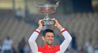 Fransa Açık Tek Erkeklerde Şampiyon Novak Djokovic