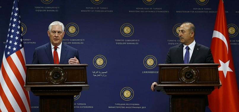 FM ÇAVUŞOĞLU, US COUNTERPART TILLERSON DISCUSS AFRIN OPERATION AT PARIS MEETING