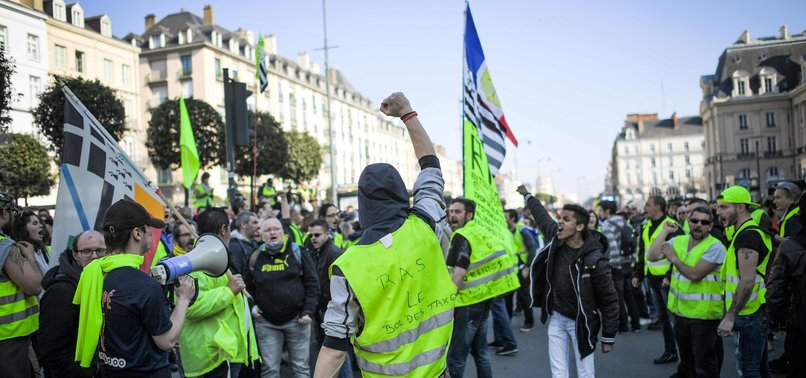 YELLOW VEST PROTESTS HIT FRENCH ECONOMY: MINISTER