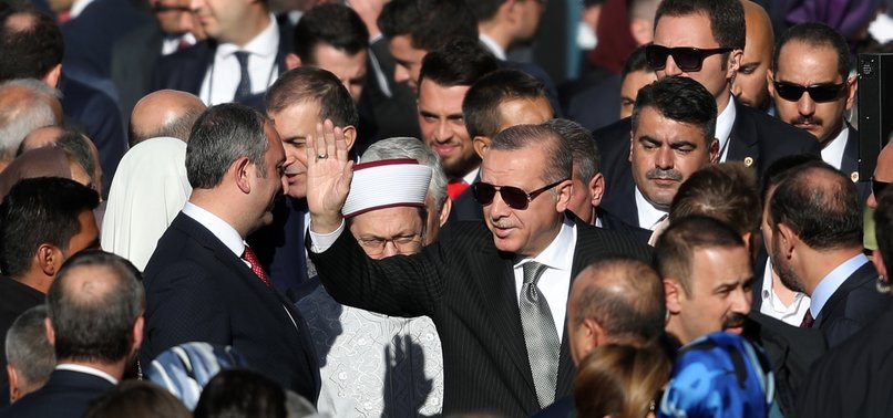 TURKEYS ERDOĞAN INAUGURATES CENTRAL MOSQUE IN GERMANYS COLOGNE