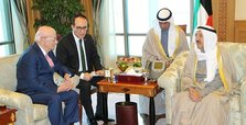 Kuwait emir meets Turkish parliament speaker