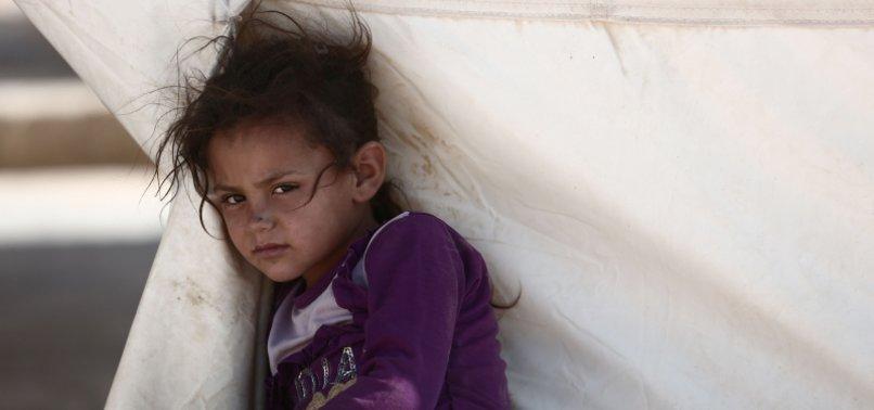 COLD KILLS 29 CHILDREN FLEEING SYRIA FIGHTING: WHO