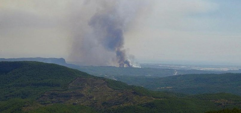 70 forest fires across Turkey under control - official