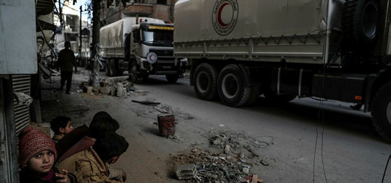 NEXT HUMANITARIAN E. GHOUTA AID CONVOY SCHEDULED FOR MARCH 8