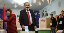 Armenia PM's bloc wins by landslide in snap polls