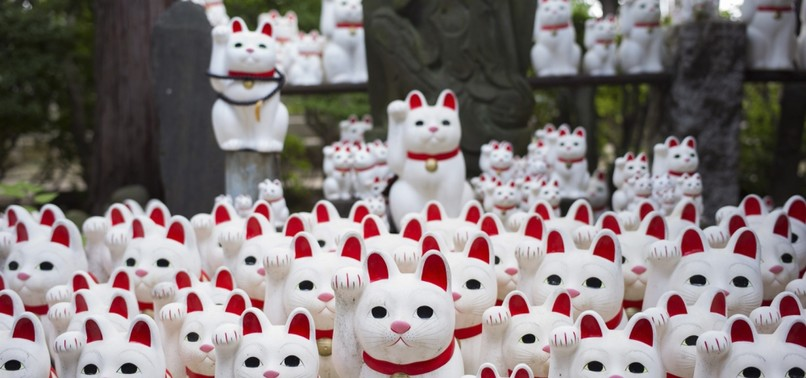 CAT SNAP: TOKYO LUCKY CAT TEMPLE DRAWS INSTAGRAMMERS