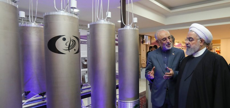 IRANS NUCLEAR CHIEF: EU HAS FAILED TO FULFIL 2015 DEAL COMMITMENTS