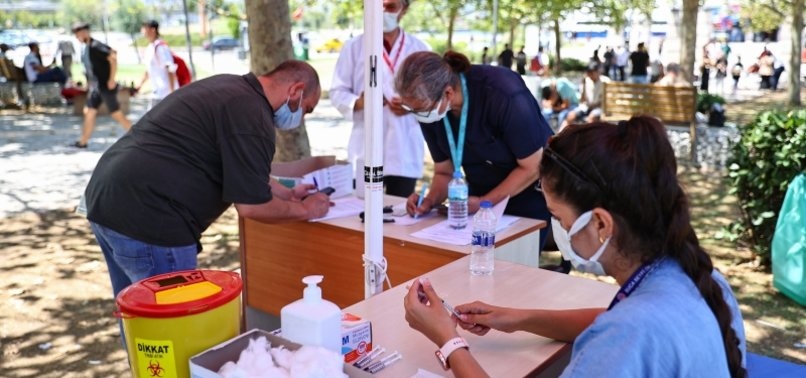 OVER 63.8M COVID-19 VACCINE SHOTS ADMINISTERED IN TURKEY