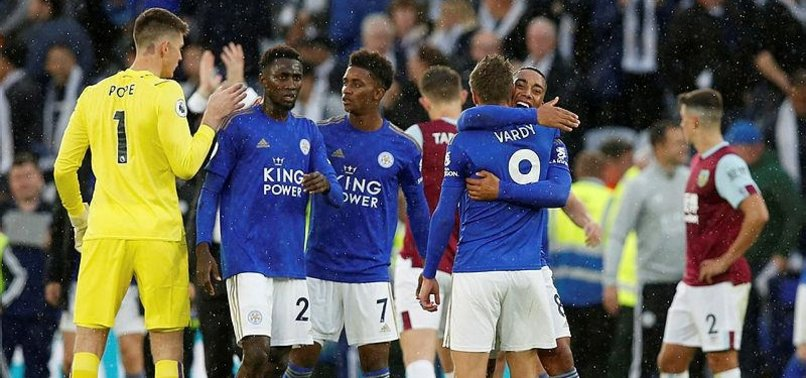 LEICESTER RALLY TO BEAT BURNELY 2-1 IN PREMIER LEAGUE