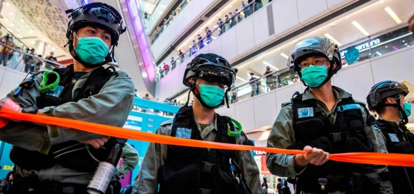 HONG KONG POLICE GRANTED SWEEPING POWERS UNDER NEW LAW