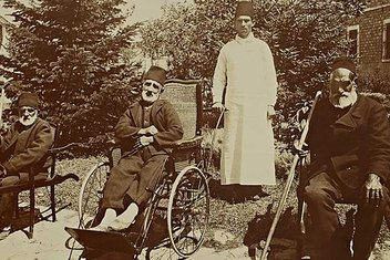 Sultan Abdülhamid'in arşivinden fotoğraflarla Darülaceze