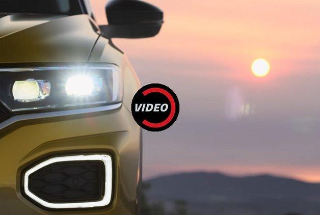 Volkswagen T-Roc'un ilk ipuçları