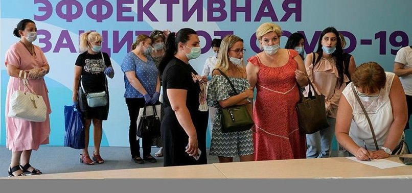 RUSSIA REPORTS 23,704 NEW COVID-19 CASES, 783 DEATHS