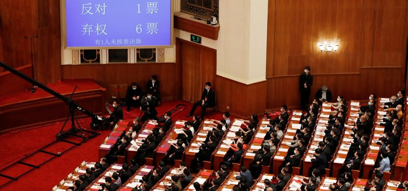 CHINESE PARLIAMENT PASSES HONG KONG NATIONAL SECURITY LAW