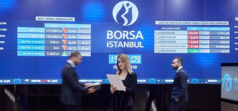 TURKEYS BORSA ISTANBUL UP 1.41% AT OPEN
