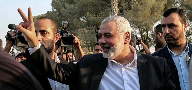 PROTESTS WON'T STOP UNTIL GAZA SIEGE LIFTED: HANIYEH