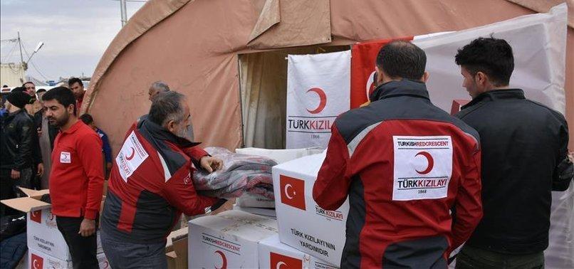TURKISH RED CRESCENT HELPS IRAQ'S DISPLACED TURKMEN