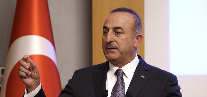NETANYAHUS ANNEXATION REMARKS VILE ATTEMPT TO WIN FEW MORE VOTES, FM ÇAVUŞOĞLU SAYS