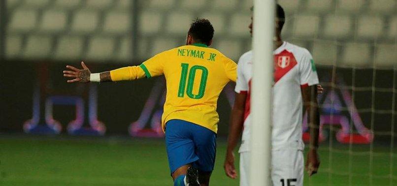 NEYMAR HAT-TRICK HELPS BRAZIL TO 4-2 WIN OVER PERU