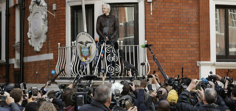 WIKILEAKS ASSANGE ARRESTED AT ECUADOR EMBASSY IN LONDON