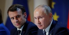 Putin, Macron discuss alleged Navalny poisoning