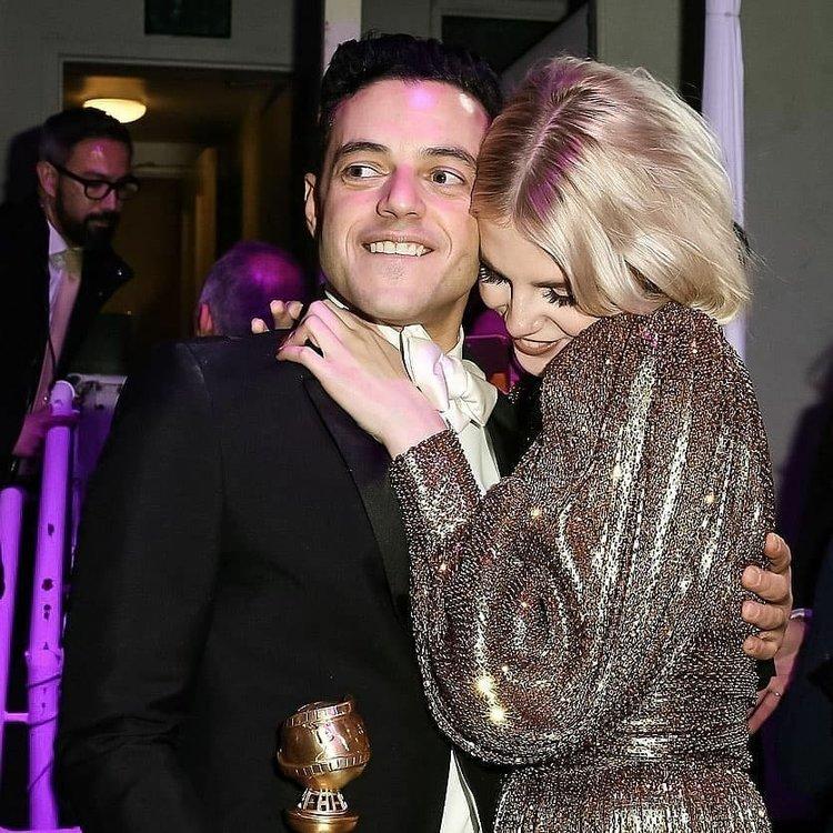 En sempatik çift: Rami Malek ve Lucy Boynton