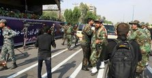 11 soldiers killed in attack on Iran military march