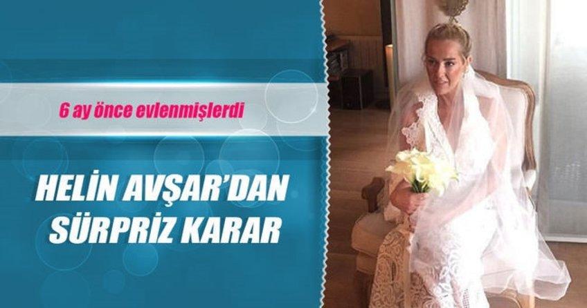 Helin Avşar'dan sürpriz karar