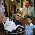 Fans of singer Ibrahim Tatlıses gather in tea house dedicated to him in Iraq