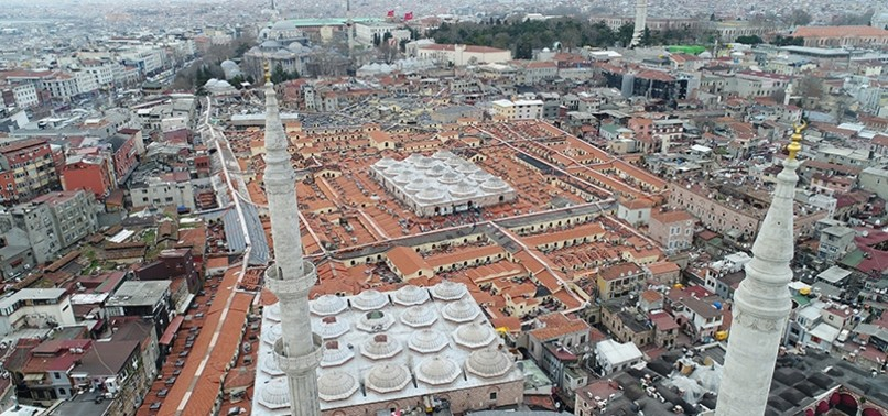 GRAND BAZAAR'S ROOF RESTORATION SET TO FINISH IN APRIL