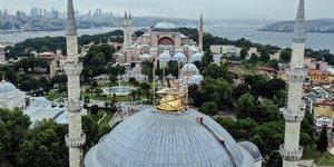 Sultanahmet Camii Yenileniyor