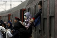 Two refugees were killed Saturday and a third was seriously injured in an accident as they were in a cargo train from Italy to Austria, police said.  The three were crushed by lorries that were...