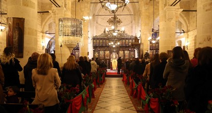 Turkey's Christian community marked Christmas Eve with religious services on Saturday night, expressing hope for a return of peace in the country rocked by a string of terror attacks and praying...