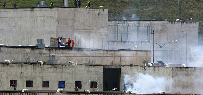ECUADOREAN PRISON RIOTS KILL MORE THAN 50 PEOPLE