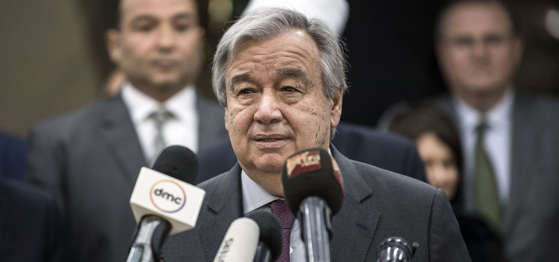 UN CHIEF IN LIBYA, FEARS FIGHTING AS FORCES MARCH TO TRIPOLI