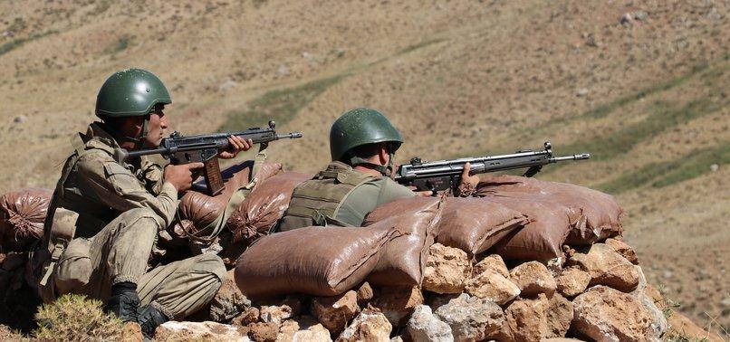 TURKISH ARMY 'NEUTRALIZES' 3 PKK TERRORISTS IN N. IRAQ